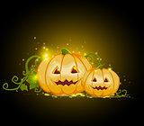 Two terrible pumpkins
