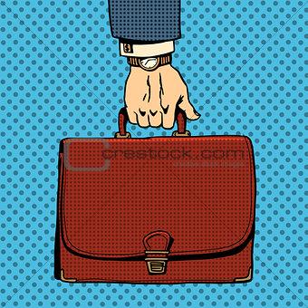 Business briefcase suitcase