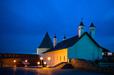 Night view of the Kazan Kremlin, Russia