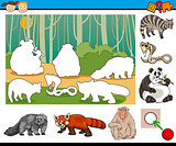 educational preschool task cartoon