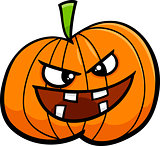 jack o lantern cartoon illustration