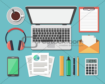 Business Work Flow Items and Gadgets