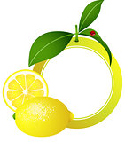 Lemon Photo Frame