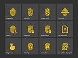 Thumbprint icons.