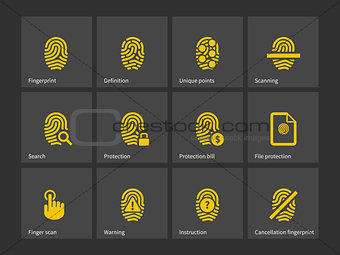 Thumbprint icons.