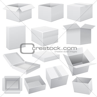 Box set. Vector Web