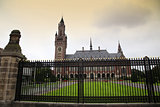 The Peace Palace - International Court of Justice in The Hague,