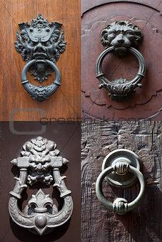antique door knockers