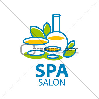 Abstract vector logo for Spa salon