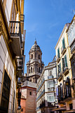 From old town streets, Malaga