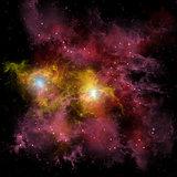 Twin Star Nebula