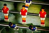 Vintage Table Soccer Player Figures