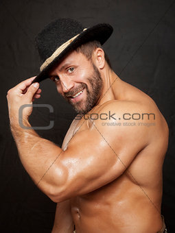 bavarian muscle man