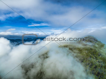 Above clouds on Lofoten