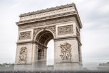 Arch of Triumph in Paris, France