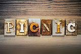 Picnic Concept Letterpress Theme