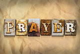 Prayer Concept Rusted Metal Type