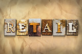 Retail Concept Rusted Metal Type