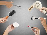 Makeup and hairstyle tools