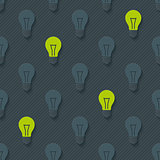 Light bulbs pattern