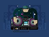 DJ character music