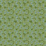 Seamless pattern of stylized olive