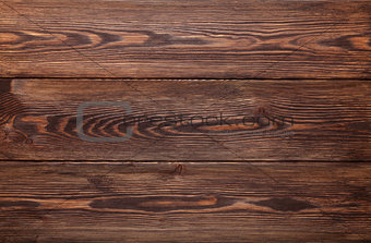 Country wooden table background