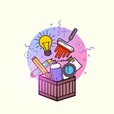 Box of Creative Items