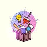 Box of Creative Items