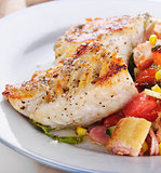 Mahi Mahi Fillets with Salad