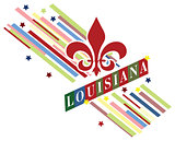 Creative banner for Louisiana