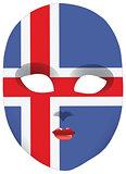 Iceland mask