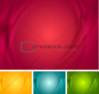 Abstract bright wavy backgrounds