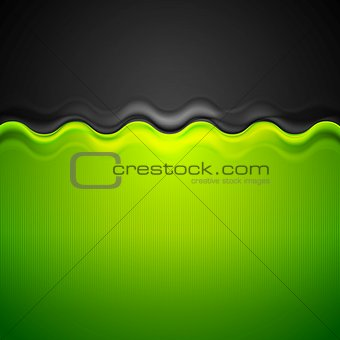 Abstract corporate bright background with wave