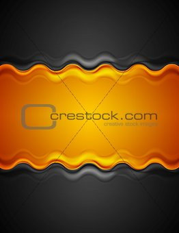 Abstract corporate bright background with waves