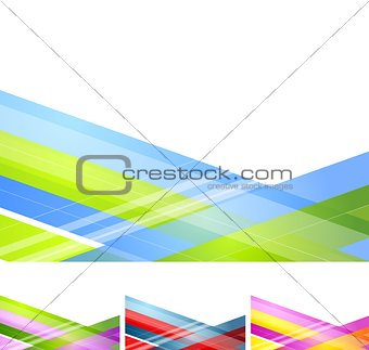 Abstract geometric minimal background