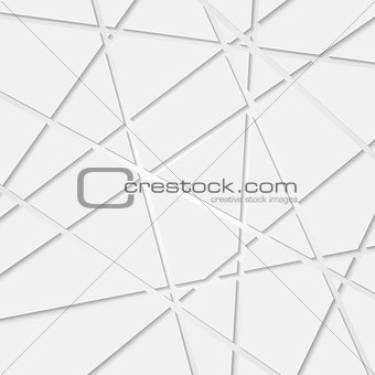 Abstract tech corporate geometric pattern