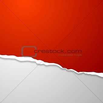 Torn edge paper abstract background