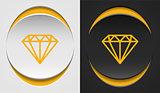 Diamond icons