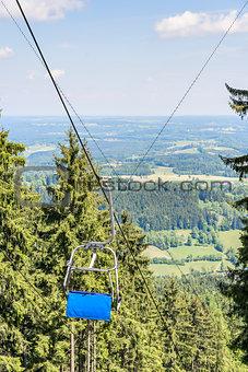 Chairlift Bavaria Alps