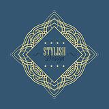 Stylish design background