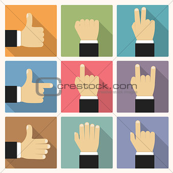 Flat Hands