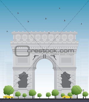 Arch of Triumph. France Paris