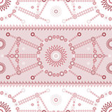 Vector ethnic modern geometric seamless pattern ornament