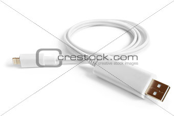 8 Pin to USB Cable