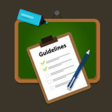 guidelines business guide standard document company