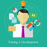 training and development business education train skill improvement