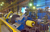 Production of role steel