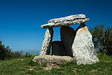Dolmen, Sorginetxe, Alava, Basque Country, Spain