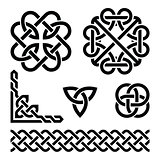 Celtic Irish knots, braids and patterns